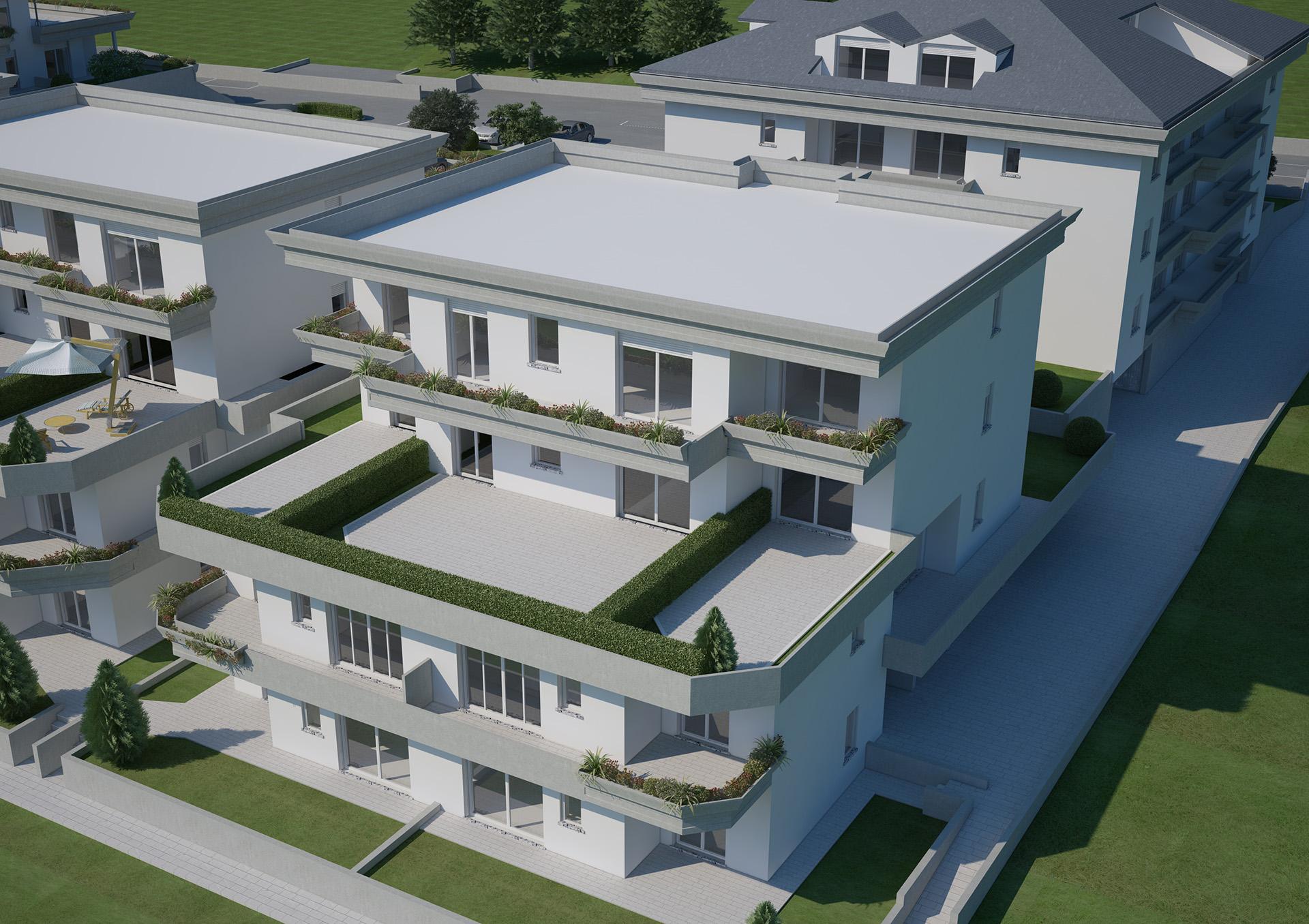 Residenza Sporting, Le Terrazze | Butti Costruzioni